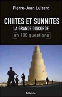 Pierre-Jean Luizard, Chiites et sunnites, Tallandier