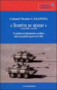 Colonel Nicolas Casanova, Tempête du désert, Economica
