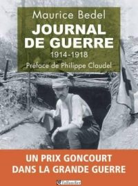 Maurice Bedel, Journal de guerre, Tallandier