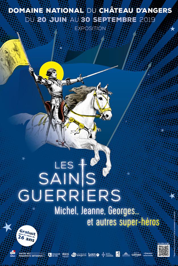 """Exposition """"Les saints guerriers"""""""